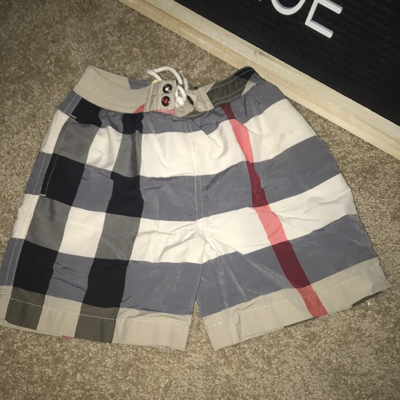 fa999c1b0f1a7 Burberry Other - Burberry: Jeffries Check Swim Trunks